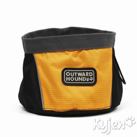 Cestovní miska Outward Hound NEW Collection Orange