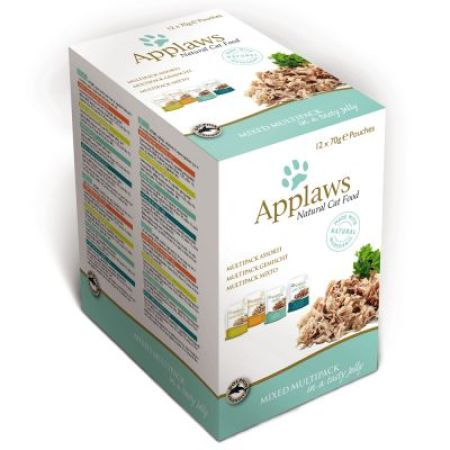 Applaws kapsička Cat JELLY MultiPack 12x70g