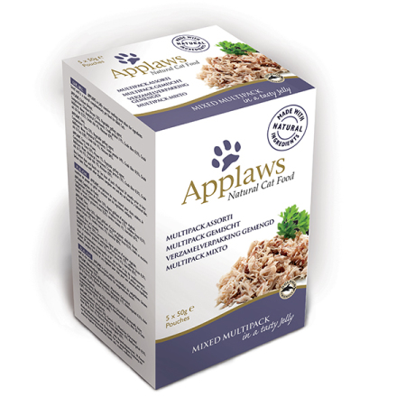 Applaws kapsička Cat Jelly Minipack Mix 5x50g