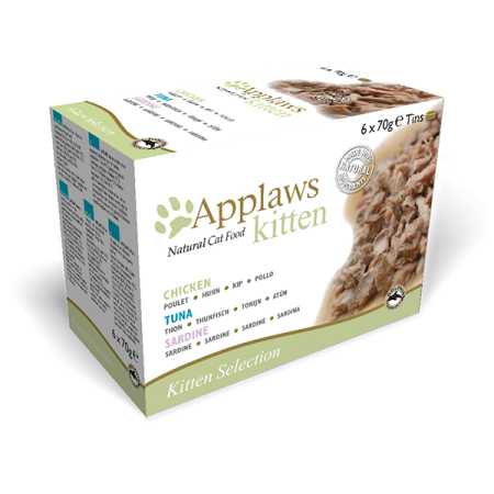 Applaws konzerva KITTEN MultiPack 6x70g