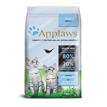 Applaws granule Cat Kitten Kuře 7,5kg