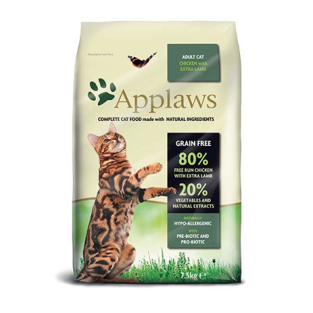 Applaws granule Cat Adult Kuře s jehněčím 7,5kg