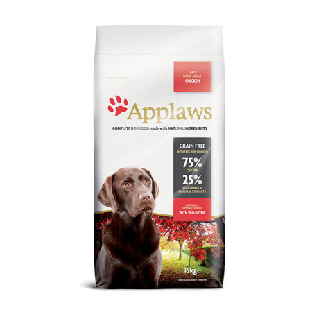 Applaws granule Dog Adult Large Breed Kuře 15kg