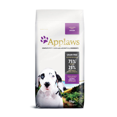 Applaws granule Dog Puppy Large Breed Kuře 15kg