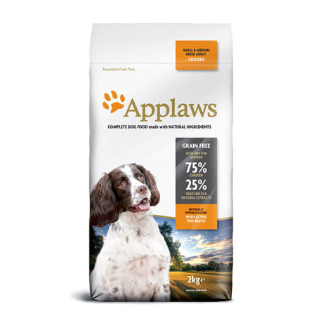 Applaws granule Dog Adult Small & Medium Breed Kuře  2kg