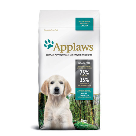 Applaws granule Dog Puppy Small & Medium Breed Kuře  2kg