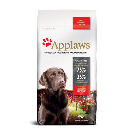 Applaws granule Dog Adult Large Breed Kuře   2kg