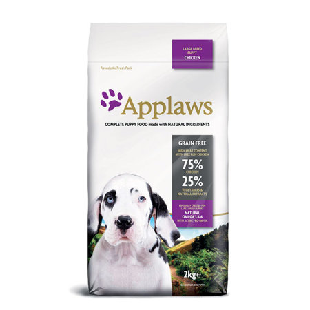 Applaws granule Dog Puppy Large Breed Kuře  2kg
