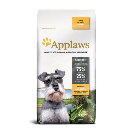 Applaws granule Dog Senior Kuře  2kg