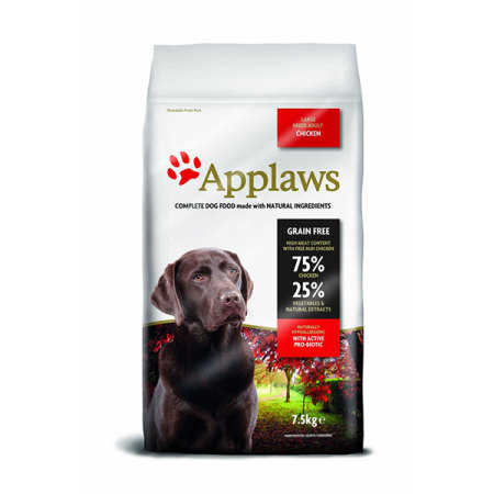Applaws granule Dog Adult Large Breed Kuře  7,5kg