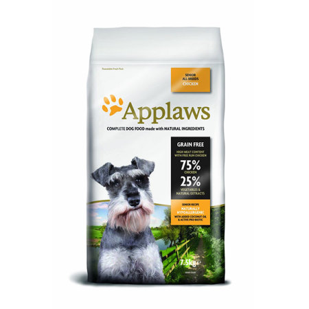 Applaws granule Dog Senior Kuře 7,5kg