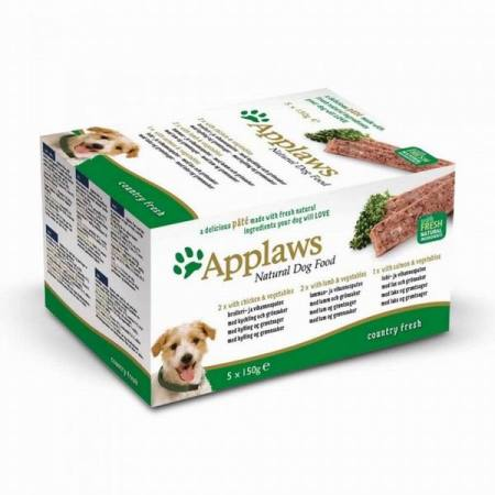 Applaws paštika Dog Multipack Country 5x150g