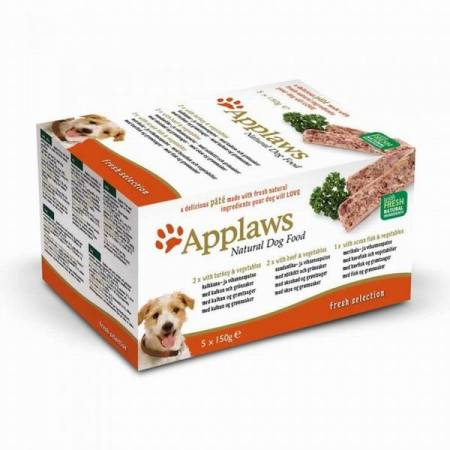 Applaws paštika Dog Multipack Fresh 5x150g