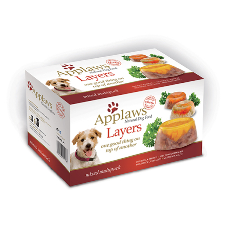 Applaws miska Dog Multipack Layers 6x100g