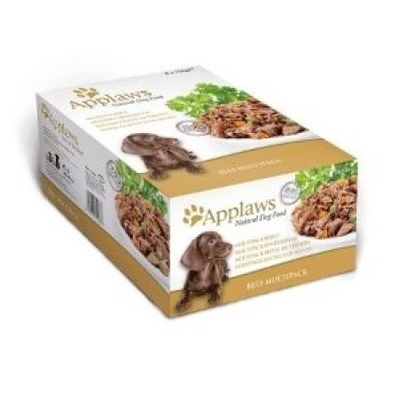 Applaws konzerva Dog Hovězí steak Multipack 8x156g