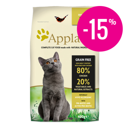 Applaws granule Cat Senior Kuře  400g - DMT 7/2018