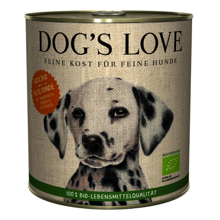 Dog's Love Bio Krocan konzerva