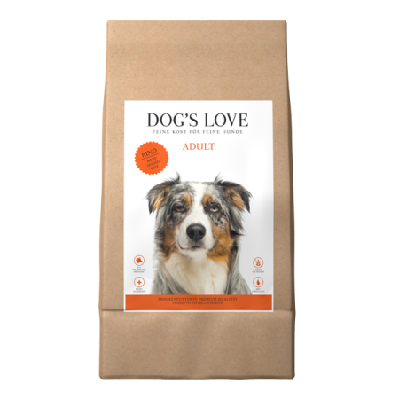DOGS LOVE granule Adult HOVĚZÍ  2kg