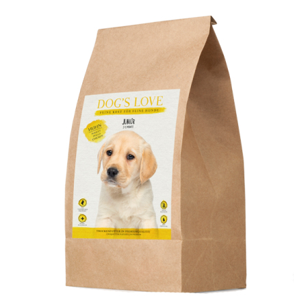 DOGS LOVE granule Junior KUŘE 12kg