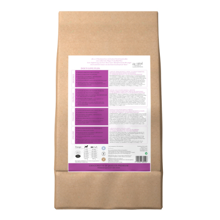 Dog's Love Jehněčí Adult granule 12kg