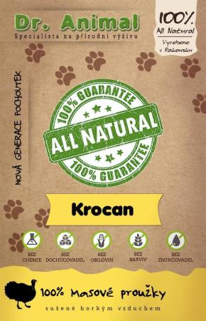 Dr. Animal - krocan proužky 80g