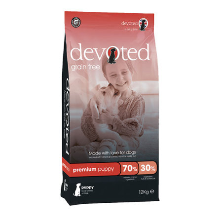 DEVOTED Dog Premium Puppy 12kg pro štěňata