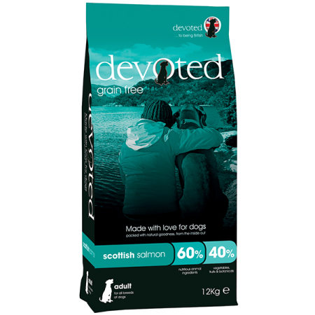 DEVOTED Dog Scottish Salmon 12kg - losos s pstruhem a sleděm