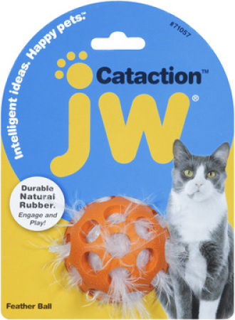JW Cataction Feather Ball - míček plněný peřím