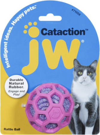 JW Cataction Rattle Ball - chrastící balónek