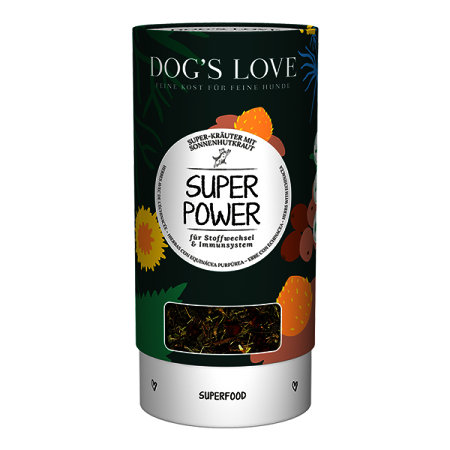 Dog's Love bylinky Super Power 70g