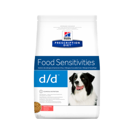 Hill's Prescription Diet Canine d/d granule Salmon & Rice