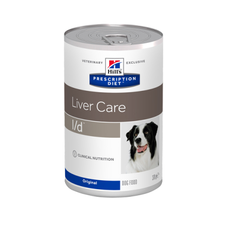 Hill's Prescription Diet Canine l/d konzerva 370g
