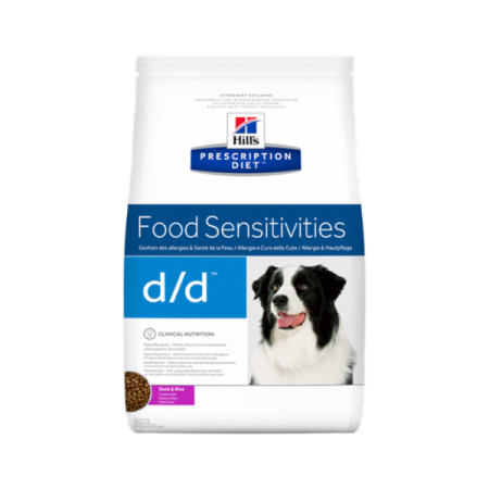 Hill's Prescription Diet Canine d/d granule Duck & Rice