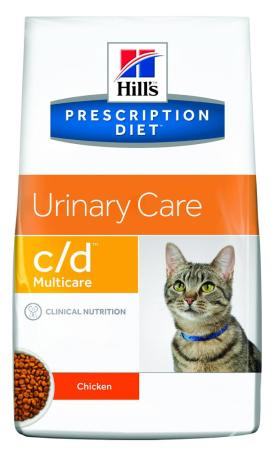 HILL´S FELINE C/D Dry Chicken  1,5kg