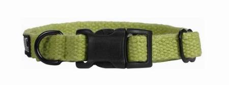 Konopný obojek Planet Dog Hemp Green   Small - zelený 23-33/1,5cm