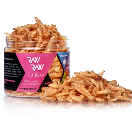 Pamlsky RAW RAW Freeze Dried - Krevety 22g