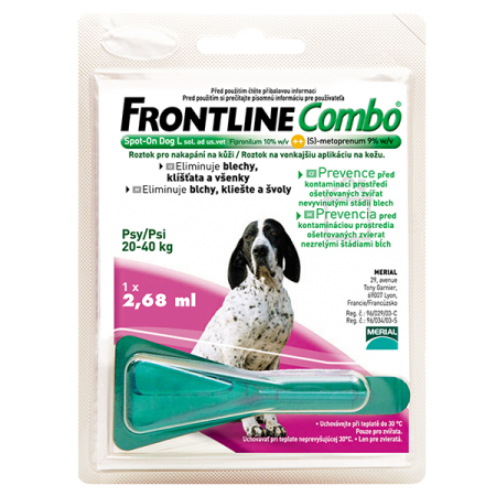 Frontline Combo spot-on DOG L a.u.v. 2,68ml (20-40kg)