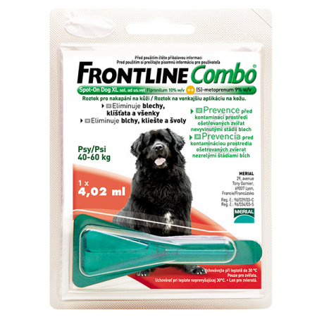 Frontline Combo spot-on DOG XL a.u.v. 4,02ml (40-60kg)