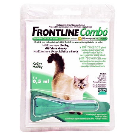 Frontline Combo spot-on CATS a.u.v. 0,5ml