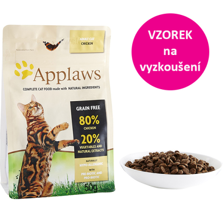 VZOREK - Applaws Cat Adult Chicken 50g