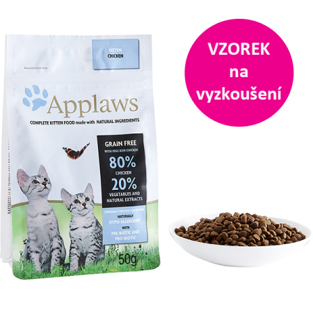 VZOREK - Applaws Kitten Kuře 50g