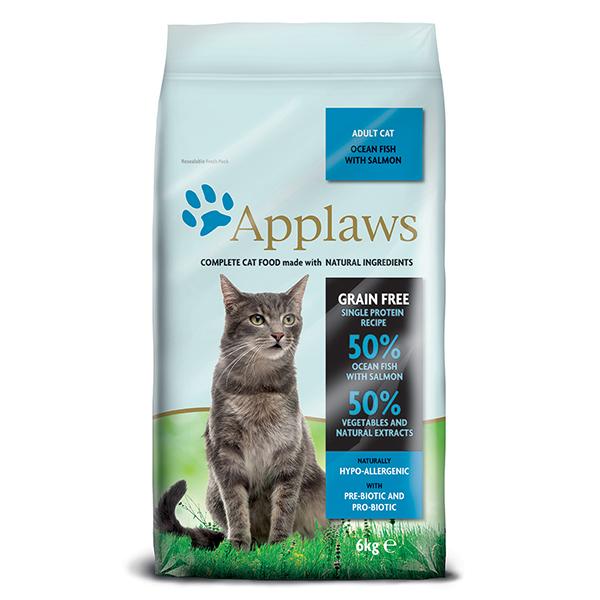 Applaws granule Cat Adult Mořské ryby s lososem 6kg