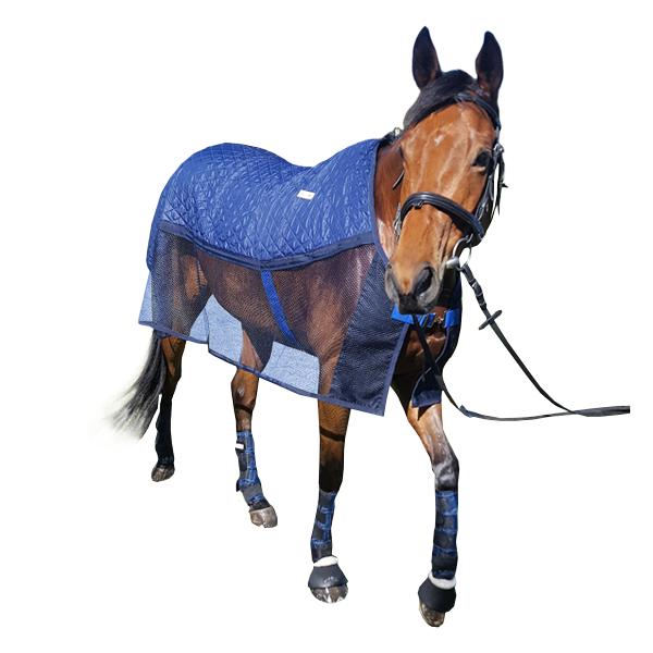 Chladící deka pro koně HyperKewl AeroChill  modrá L