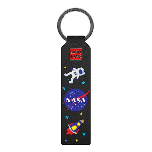 Klíčenka / přívěsek Waudog NASA - černá